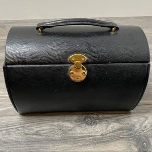 🌈 domed leather jewelry box